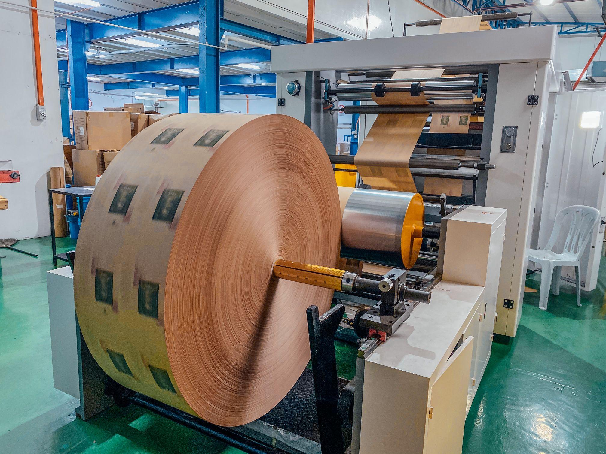 Printing Press For Branded Paper Bag